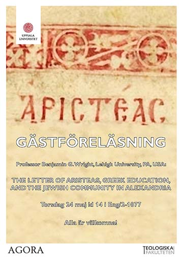 The Letter of Aristeas, Greek Education, and the Jewish Community in Alexandria
