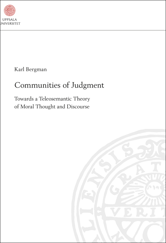 Karl Bergman – PhD Dissertation Defence