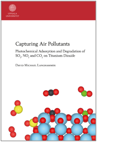 Disputation: Capturing Air Pollutants: Photochemical Adsorption and Degradation of SO2, NO2 and CO2 on Titanium Dioxide